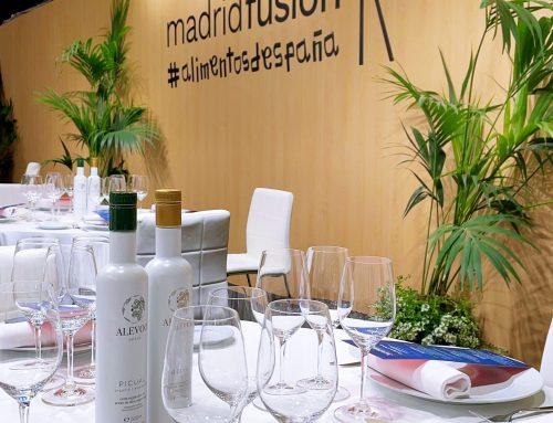 Madrid Fusión 2021: el AOVE de Alevoo protagonista junto a lo mejor de la gastronomía