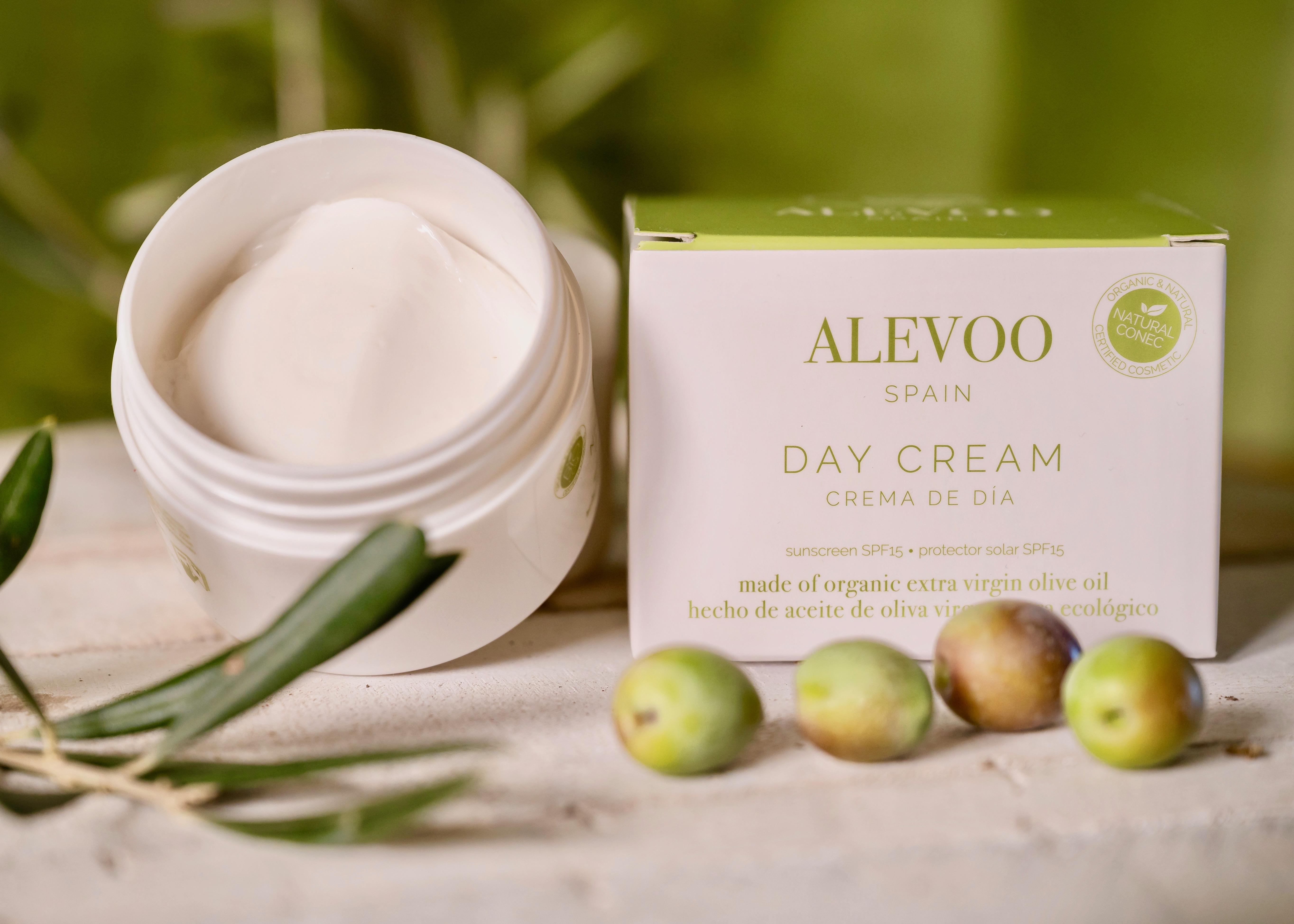 Crema de día unisex de aceite de oliva virgen extra