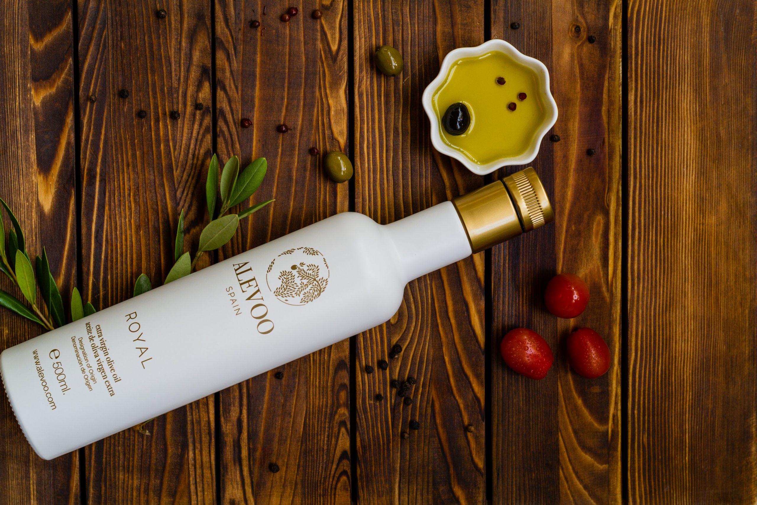 Aceite de oliva natural y orgánico